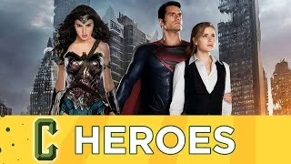 Collider Heroes -  Henry Cavill Talks Superman, Wonder Woman & Suicide Squad