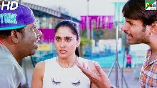 Sundeep Kishan Saves Regina's Life   Mass Masala (Nakshatram)   Hindi Dubbed Movie   HD