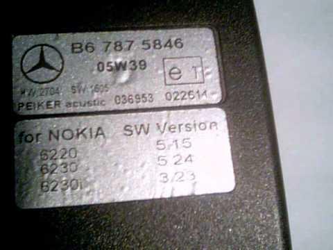 NOKIA 6230 MERCEDES SW.wmv