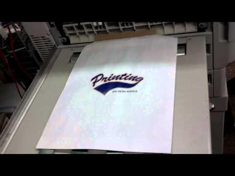 San Diego Printing  Xante Digital Press Paper Bag Printing!