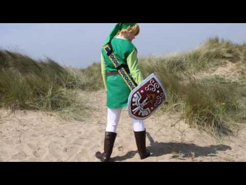 Toon Link Cosplay Photoshoot