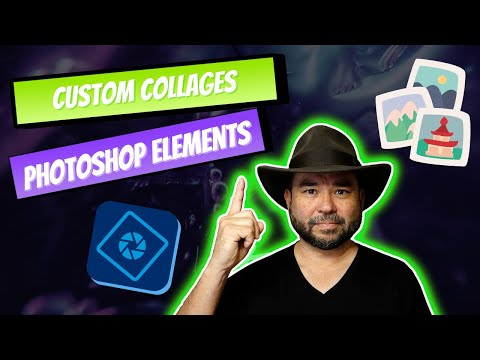Learn Photoshop Elements - Custom Collages