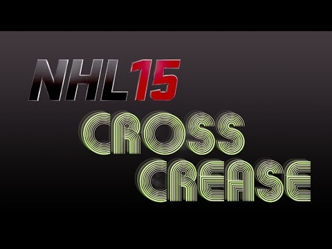 NHL 15: Cross Crease Tutorial | How to Pass
