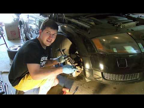 Replacing a Tie Rod End and Sway Bar Link