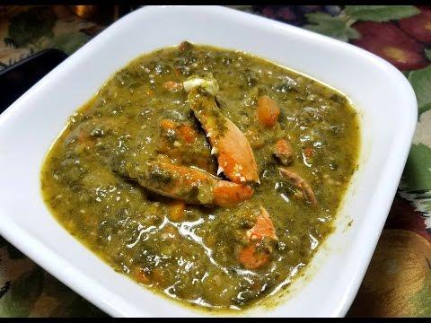 Trinidad Callaloo with Crab | Taste of Trini