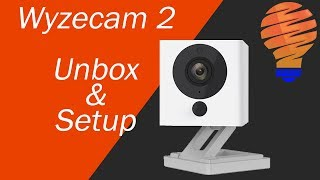 $20 Smart Home Cameras - Wyzecam 2 Unbox and Setup