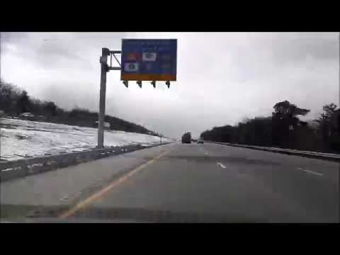 TIMELAPSE of Driving all the way from NEW YORK to ORLANDO,FLORIDA in under 10 minutes!!!