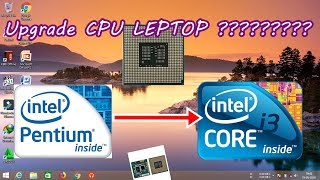 HP NX6110 Laptop CPU Celeron to Pentium M Upgrading - PakVim