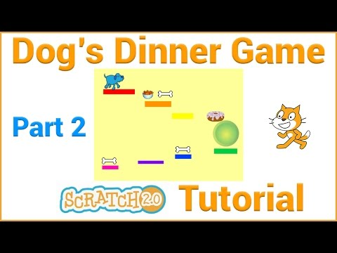 Make a Platform Game in Scratch (Part 2/5)