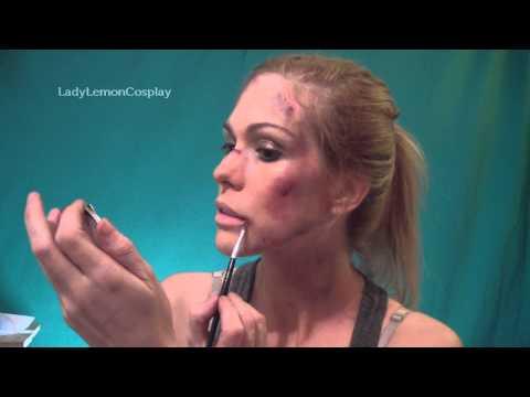 Lara Croft make up tutorial - Reborn