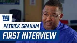 Patrick Graham FIRST INTERVIEW as Giants Assistant Head Coach/Defensive Coordinator