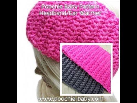 Make this Easy Crochet Headband/Ear Warmer