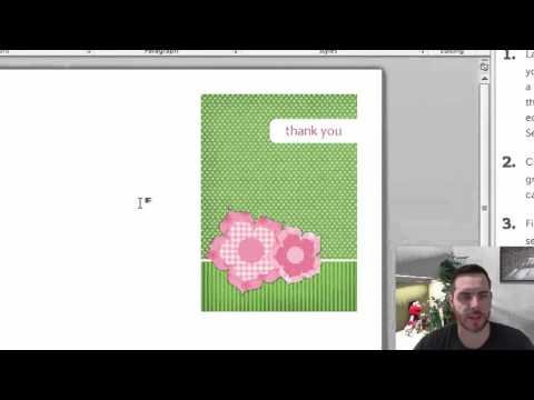 How to Create Greeting Cards in Microsoft Word