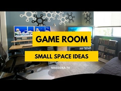 50+ Creative Small Space Game Room Ideas for Your Room