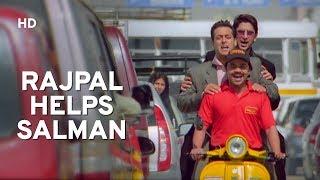 Helpful Rajpal Yadav | Salman Khan | Sohail Khan | Maine Pyaar Kyu Kiya | Comedy Movie