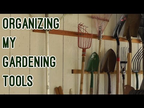 Organizing My Gardening Tools
