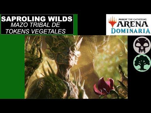 Magic arena Dominaria Saprolin Wilds Un mazo de tokens muy poderoso
