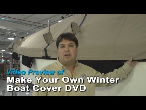 Video Preview of Make Your Own Winter Boat Cover DVD - Preview Video