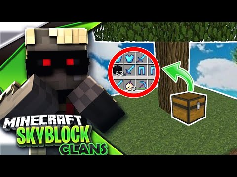 NEW UPDATE*| Minecraft PE Skyblock + Factions!?Server Let's Play#13[MCPE 1.4.0 SKYCLAN]