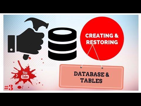 Creating and Restoring Database and Tables in SQL Injection !! mysql postgresql #3✔