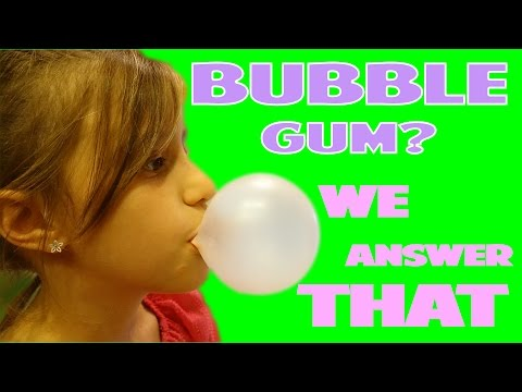 What Bubble Gum Blows the Best Bubbles? | WE ANSWER THAT EP. 6!