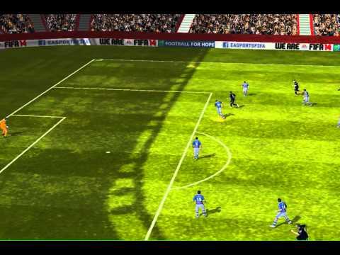 FIFA 14 iPhone/iPad - djorbitek vs. RC Recreativo