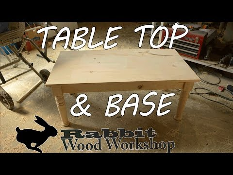 Table Top & Base for a Coffee Table Part 2