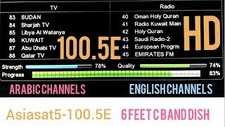 asiasat 5 channel list 2018 Videos - 9tube tv