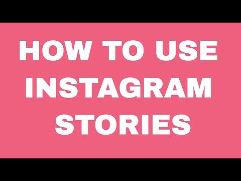 How to use Instagram Stories - Tech walk through #Instagram
