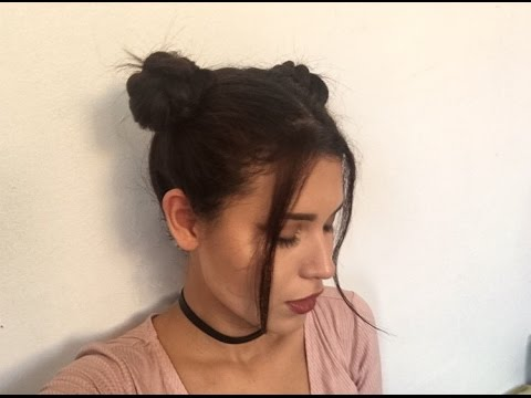 How to do Space Buns - Three different ways
