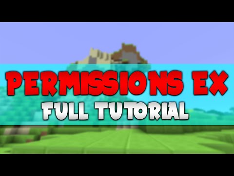 PermissionsEx | Full Minecraft Server Tutorial