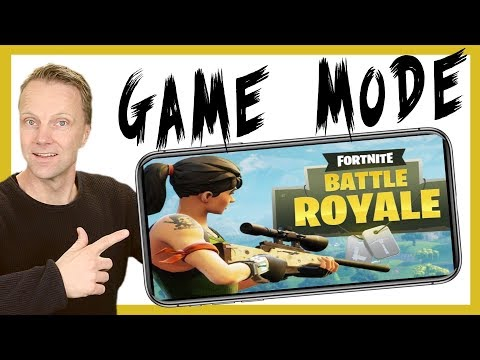 Best iPhone settings for FORTNITE - iPhone Game Mode
