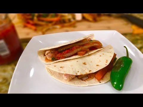 Chicken Fajitas - Healthy Eating