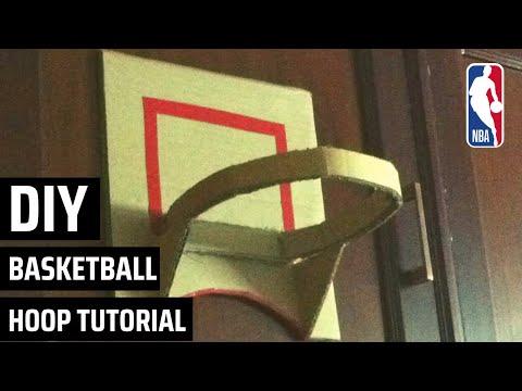 How to make a homemade cardboard basketball hoop|Easy basketball hoop