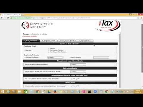 How to register online for Kenya Revenue Authority personal identification number   pin