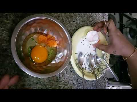 Carrot Egg Dosa for babies (above 9months) - Homemade Food