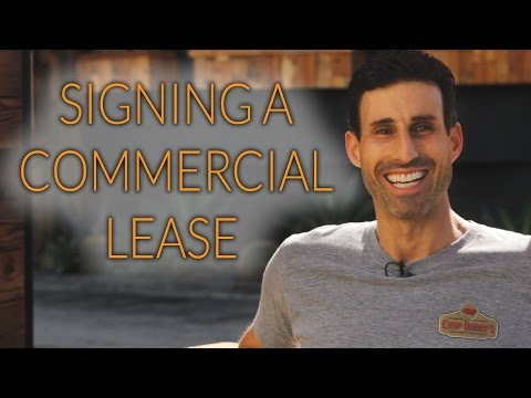 Signing a Commercial Lease