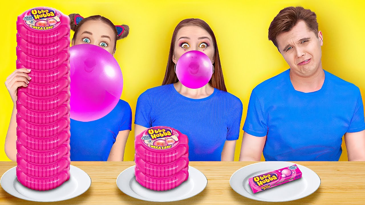 100 LAYERS OF FOOD CHALLENGE || Creative Food Hacks And Crazy Pranks On Friends by 123 Go! GENIUS