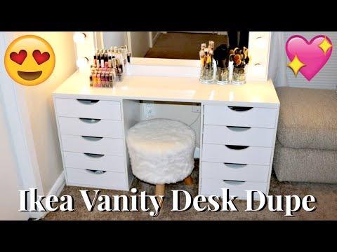 DIY Ikea Vanity Dupe   $100