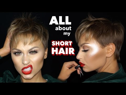 All About My Short Hair - The Best Products for a Pixie Cut | Alexandra Anele