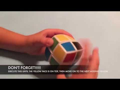 Rubik's Cube (V-Cube) 2X2 Final Algorithm Tutorial by Andy