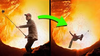 10 People That Fell Into Volcanoes