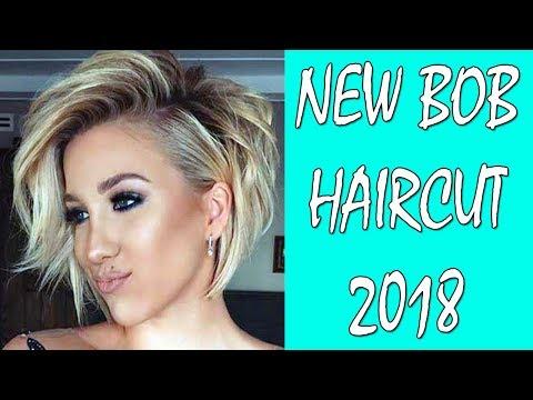NEW BOB HAIRCUT 2018   BOB HAIRCUT AND HAIRSTYLE   BOB HAIR IDEAS 2018