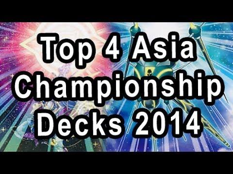 Top 4 Asia Championship Decks 2014