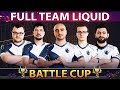 FULL TEAM LIQUID On Battle Cup Miracle With New Young Invoker Persona TI9 Set Dota 2