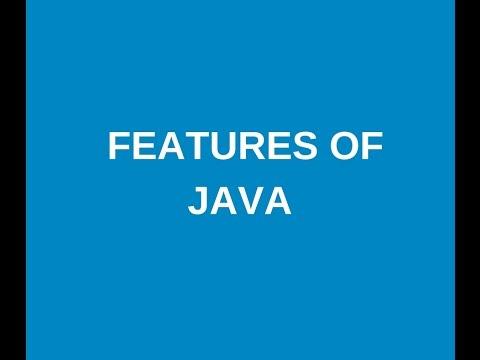 Java tutorial in telugu part 2 : Features of java