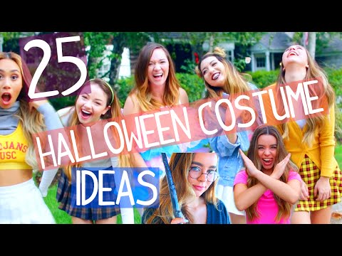 25 Last Minute Halloween Costume Ideas!