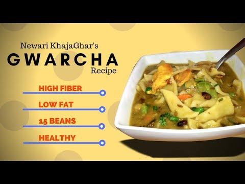 How to make 15 Beans Vegetable Soup | Gwarcha | Newari homemade Soup