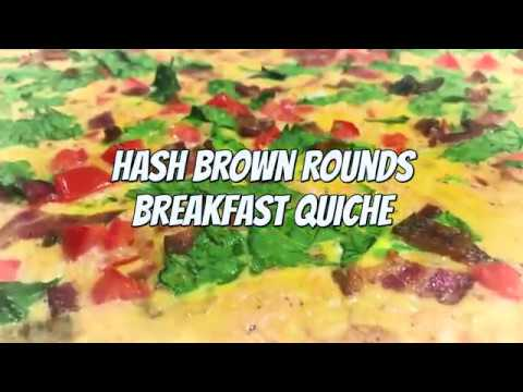 Hash Brown Rounds Breakfast Casserole