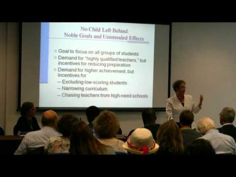 Challenges to equity in American public education - Talk by Linda Darling-Hammond